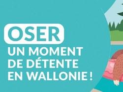 """Guide pratique : """"oser un moment de détente en Wallonie"""""""