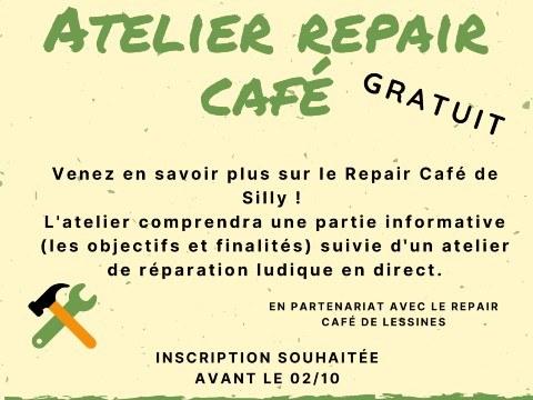Atelier GAPS : Repair Café