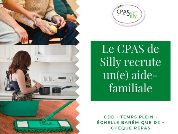 Le CPAS recrute une aide-familiale