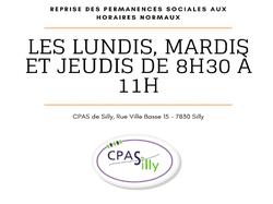 Permanences sociales du CPAS